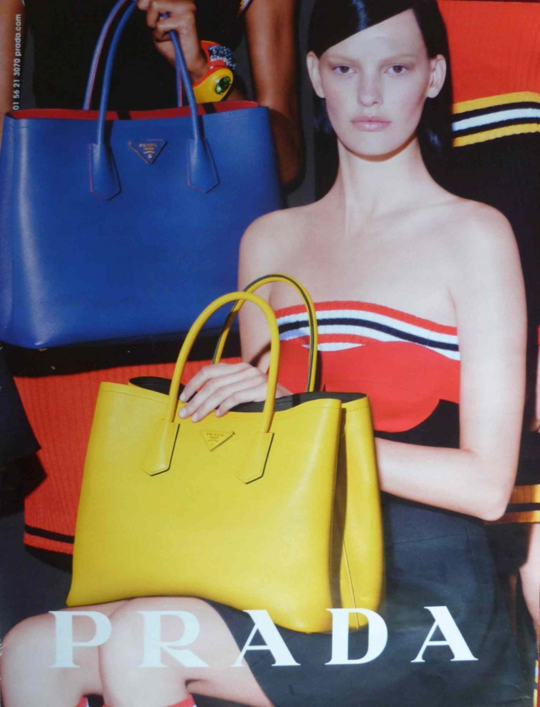 Le nouvel it-bag Prada