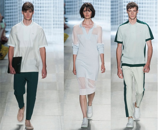Collection printemps 2014 Felipe Oliveira Batista pour Lacoste