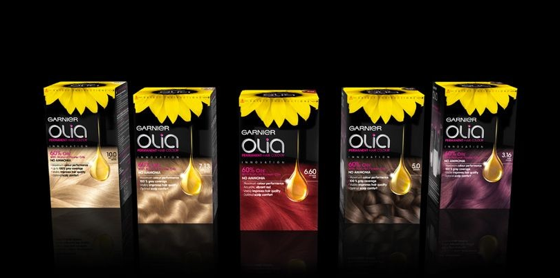 packaging olia koidin dion - Coloration Olia Blond