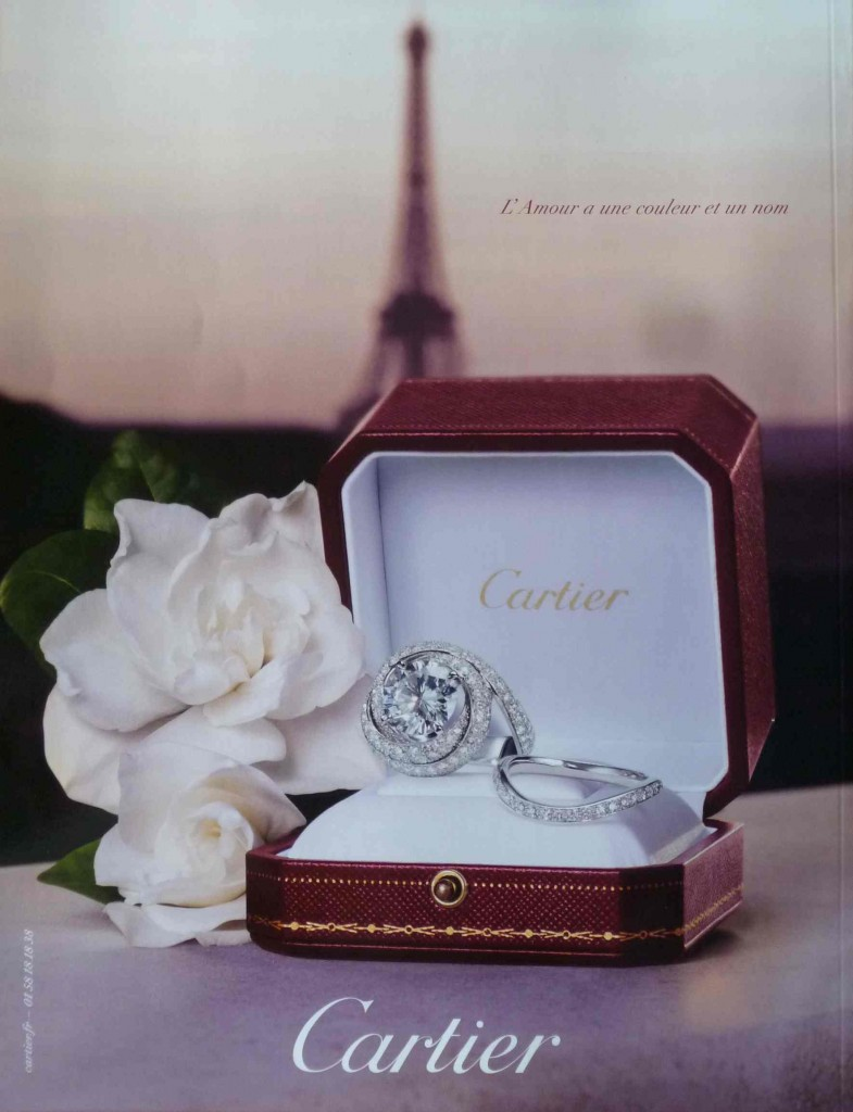 Cartier rouge amour
