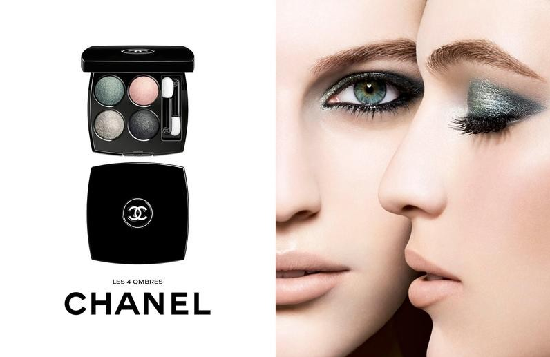 Les 4 ombres de Chanel shootées par Richard Burbridge