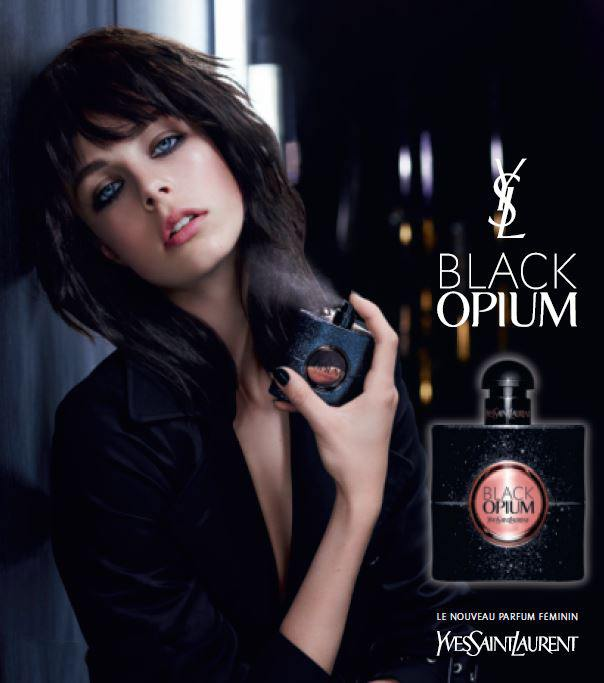 black opium d 39 ysl le parfum rock glam de la rentr e. Black Bedroom Furniture Sets. Home Design Ideas