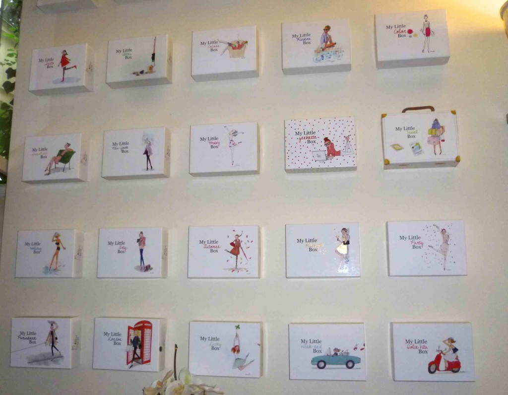 Le mur de boites my little box