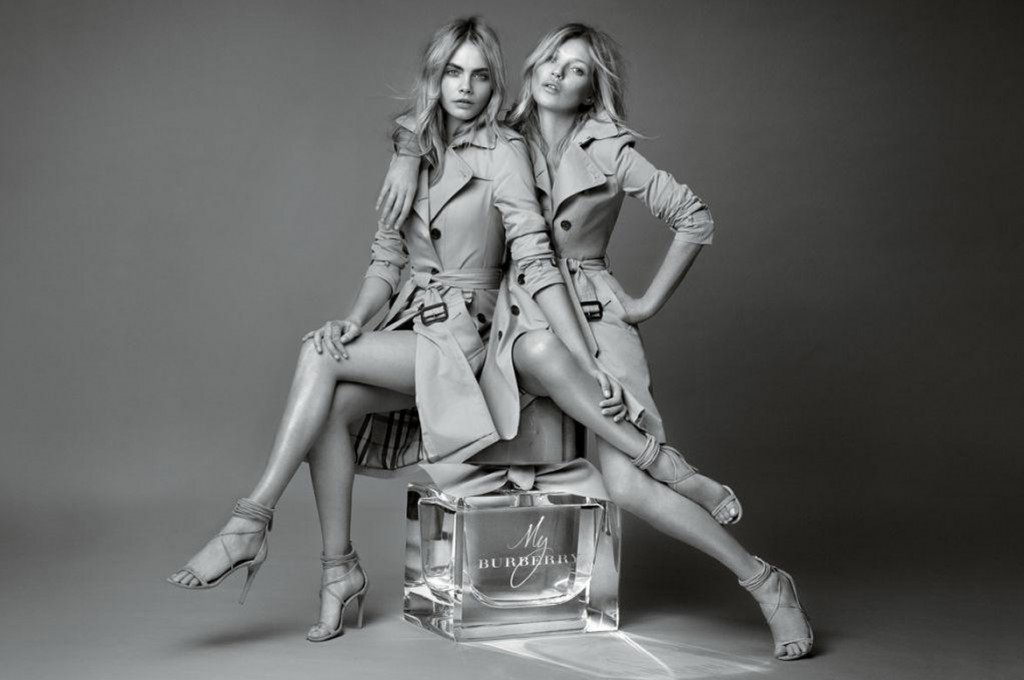 Cara-Delevingne-And-Kate-Moss-pub- My-Burberry