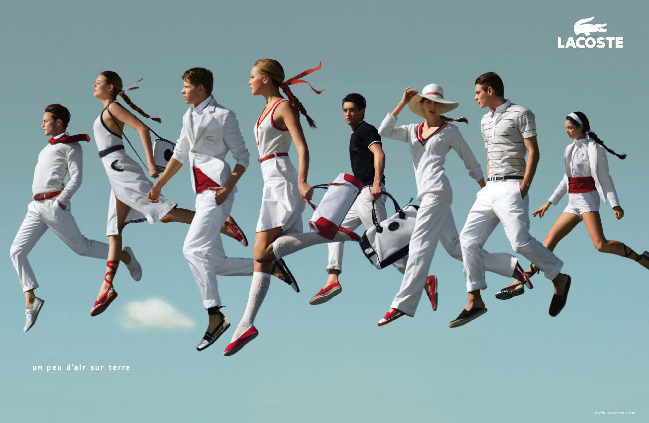 Lacoste Nous Fait Planer In The Air Exp Rience E Commerce
