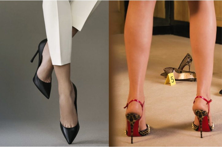 Stilettos : le match digital Dior Louboutin