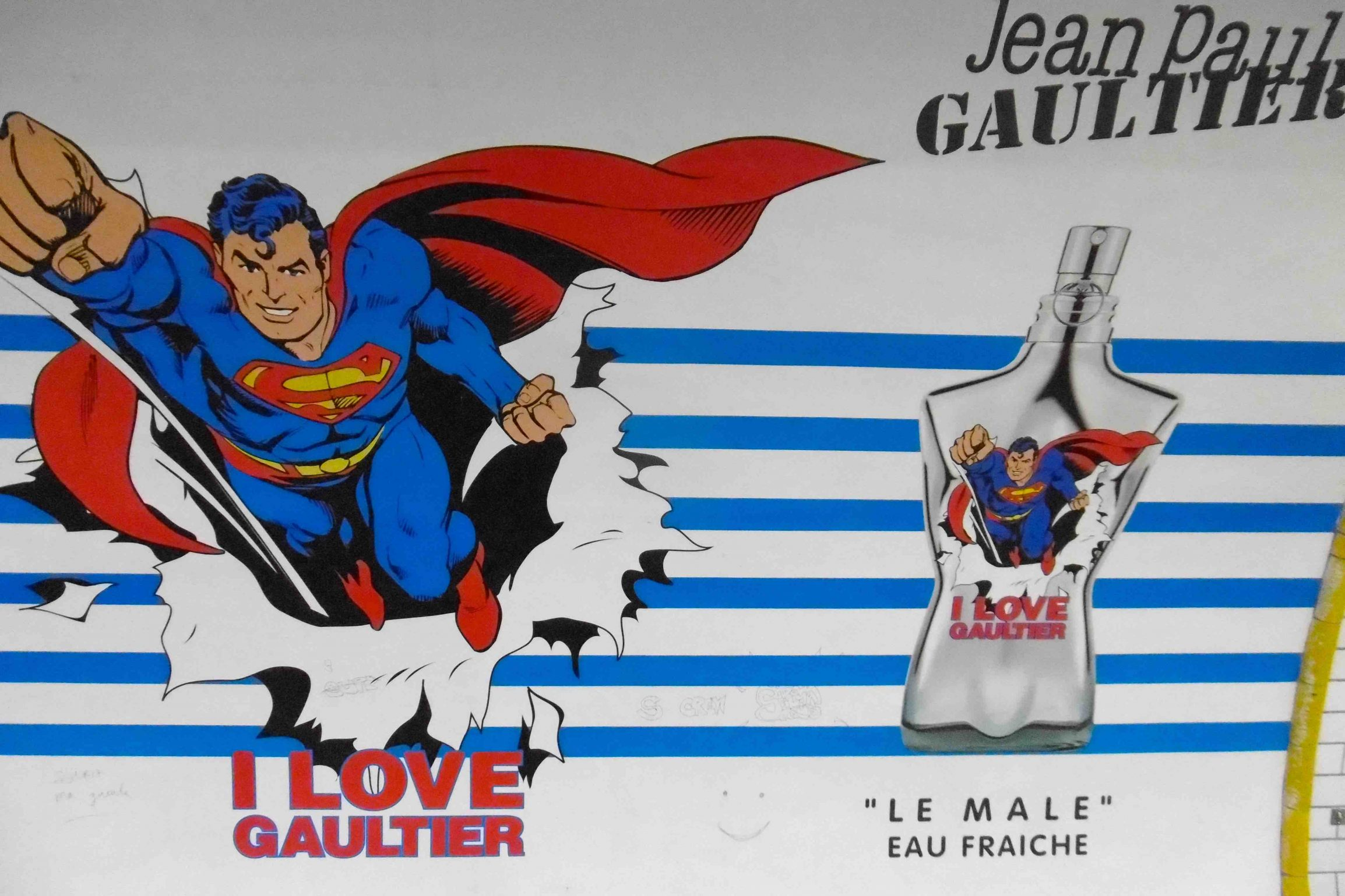 superman jean paul gaultier