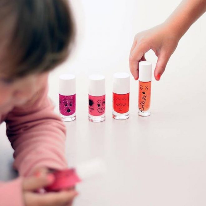 3 innovations Nailmatic : distributeur automatique, vernis à l'eau enfant, puis femme