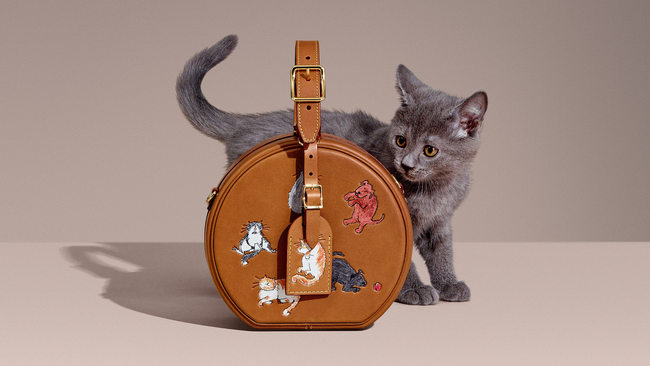 Hit instagram avec ses animaux, la collection capsule Louis Vuitton x Grace Coddington