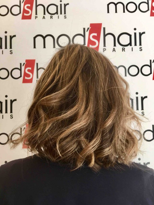 balayage blond naturel