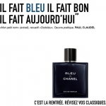 campagne chanel metro